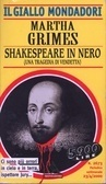 Shakespeare in nero  by  Martha Grimes