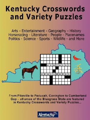 Kentucky Crosswords and Variety Puzzles  by  Vicki A. Benge