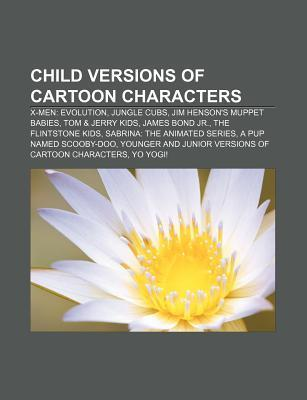 Child Versions of Cartoon Characters Source Wikipedia