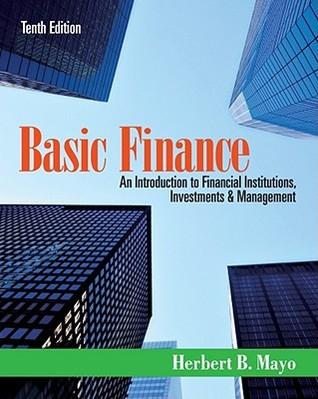 Finance Herbert B. Mayo