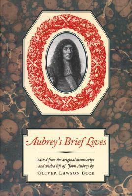 Brief Lives (Nonpareil Book) John Aubrey