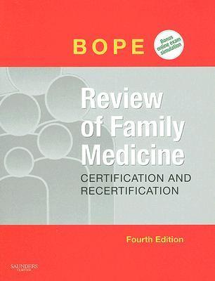 Review of Family Medicine: Text with Online Testbank [With CDROM]  by  Edward T. Bope