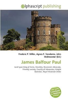 James Balfour Paul Kntr Benoit Kntr