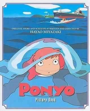 Ponyo Picture Book Hayao Miyazaki