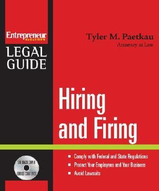 Hiring and Firing [With CDROM] Tyler Paetkau