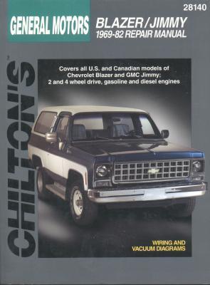 GM Blazer/Jimmy 1969-82  by  Chilton Automotive Books
