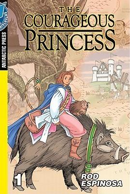 The Courageous Princess Pocket Manga  by  Rod Espinosa