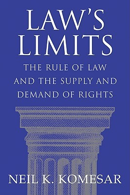 Laws Limits: Rule of Law and the Supply and Demand of Rights Neil K. Komesar
