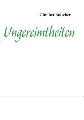 Unsinnvolles Günther Butscher