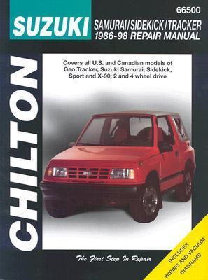 Suzuki: Samurai/Sidekick/Tracker 1986-98 Chilton Editorial