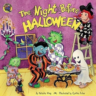 The Night Before Halloween (All Aboard Books)  by  Natasha Wing