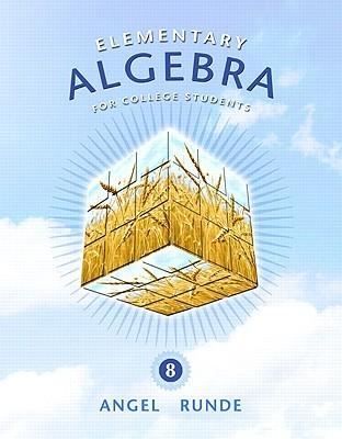 Algebra Elemental  by  Allen R. Angel