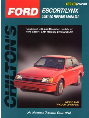 Ford Escort and Lynx, 1981-90  by  Chilton Automotive Books