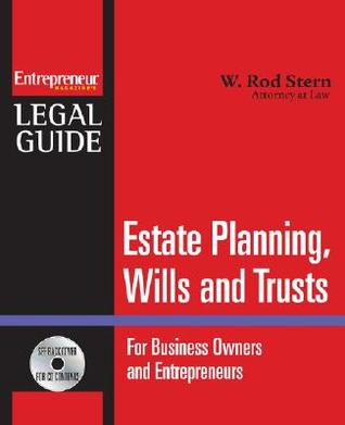 Estate Planning, Wills, and Trusts [With CDROM]  by  W. Rod Stern