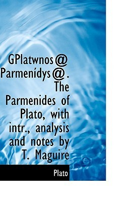 Parmenidys. The Parmenides of Plato  by  Plato