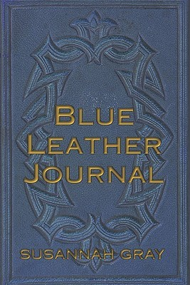 Blue Leather Journal Susannah Gray