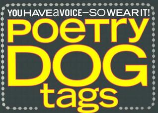 Poetry Dog Tags Clare Ultimo