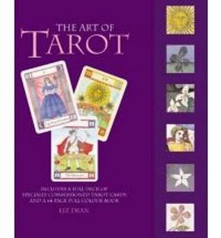 Color Your Tarot Set Liz Dean
