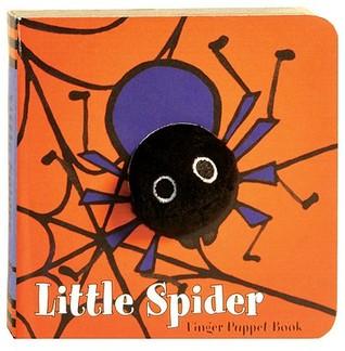 Little Spider: Finger Puppet Book  by  Klaartje Van Der Put