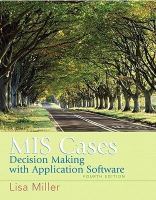 MIS Cases: Decision Making Wih Application Software M. Lisa Miller