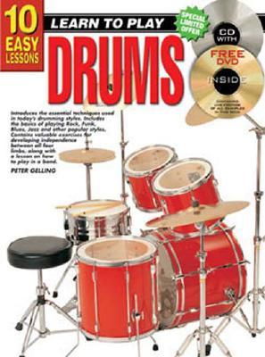 10 EASY LESSONS DRUMS Peter Gelling