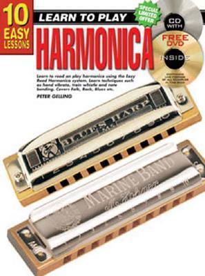 10 Easy Lessons Harmonica Peter Gelling