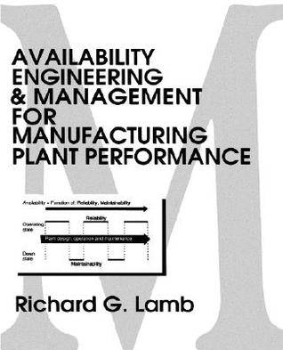 Availability Engineering & Management for Manufacturing Plant Performance Richard G. Lamb