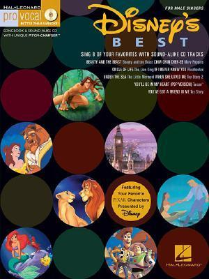 Disneys Best for Male Singers [With CD] Hal Leonard Publishing Company