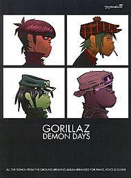 Gorillaz: Demon Days: Piano/Vocal/Chords  by  Gorillaz