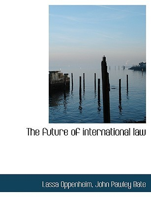 International Law Volume 1 Peace  by  Lassa Oppenheim