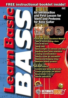 Ubsjr. Learn Basic Bass: DVD  by  Alfred A. Knopf Publishing Company, Inc.