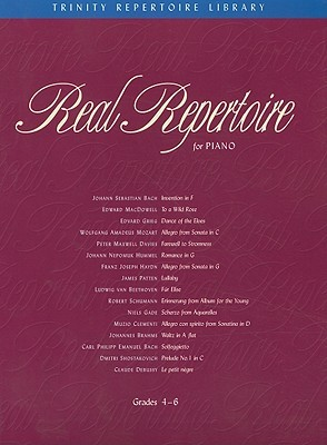 Real Repertoire for Piano: Book & CD  by  Christine Brown