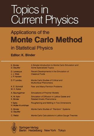Monte Carlo Simulation In Statistical Physics: An Introduction  by  Kurt Binder