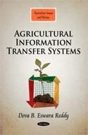 Agricultural Information Transfer Systems  by  Deva B. Eswara Reddy