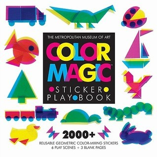 Color Magic Sticker Play Book  by  The Metropolitan Museum Of Art