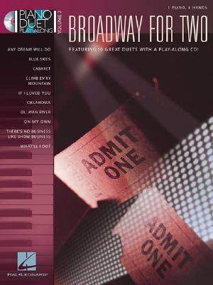 BROADWAY FOR TWO VOLUME 3    BK/CD                        1 PIANO 4 HANDS (Piano Duet Play-Along (Hal Leonard))  by  Songbook