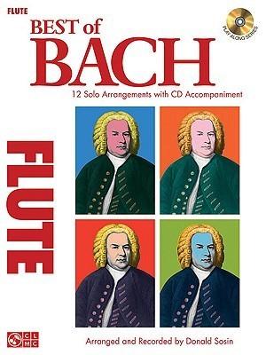 Best of Bach: 12 Solo Arrangements with CD Accompaniment Johann Sebastian Bach