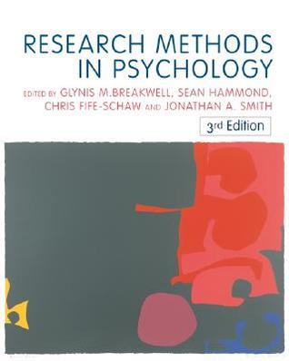Doing Social Psychology Research  by  Glynis M. Breakwell