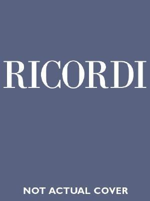 La Boheme: Canto E Pianoforte Giacomo Puccini