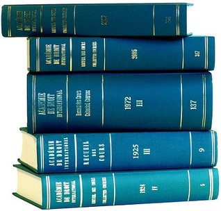 Recueil Des Cours: Vol. 230a: Index Tomes, 1990-1991 Academie de Droit International de la Haye