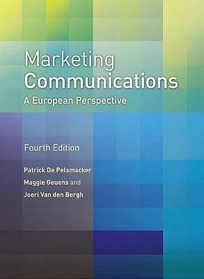 Foundation of Marketing Communications Maggie Geuens