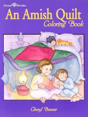Amish Quilt Coloring Book Cheryl Benner