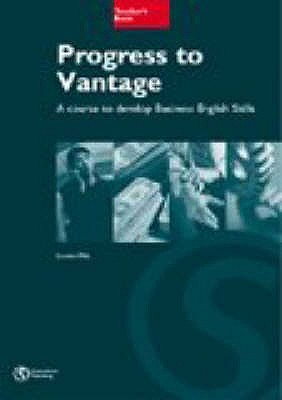 Progress to Vantage Teachers Book  by  Russell Whitehead