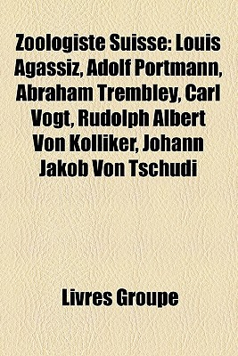 Zoologiste Suisse Livres Groupe