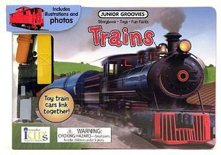 Junior Groovies: Trains (Storybook, Fun Facts and Toys) Ikids