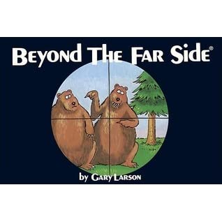 BEYOND THE FAR SIDE - GARY LARSON - COMPLETE VOLUME OF COMICS VG  M16