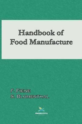 Handbook of Food Manufacture F. Fiene