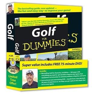 Golf For Dummies, DVD Bundle (For Dummies Gary McCord