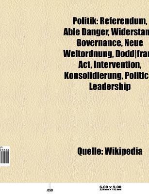 Politik: Initiative, Naturschutzpolitik, Widerstand, Politolinguistik, Governance, Politische Differenz, Top-Down Und Bottom-Up Source Wikipedia