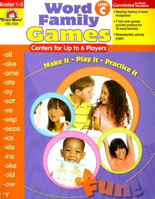 Word Family Games: Centers for Up to 6 Players, Level C Jo Ellen Moore